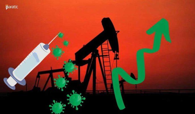 Brent Petrol Aşı İyimserliği ve Stok Düşüşüyle 45 Dolar Üstüne Çıktı