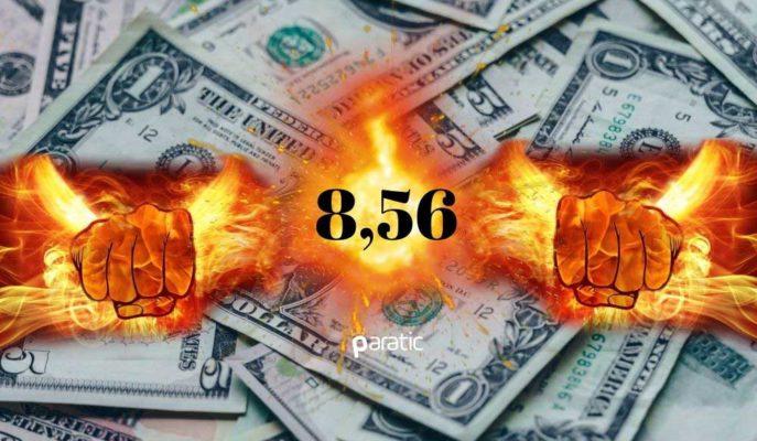 Dolar Küresel Ölçekte Zayıflamaya Devam Ederken, TL Karşısında 8,56 ile Rekor Tazeledi