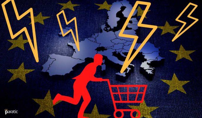 Euro Bölgesi Tüketici Güveni -17,6'ya Düşerken GSYİH Görünümü Gölgelendi