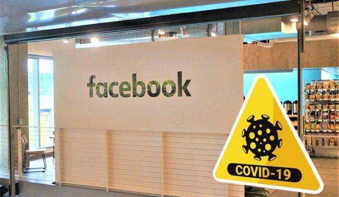 Facebook Çalışanları COVID-19 Nedeniyle Hayatlarının Risk Altında Olduğunu Belirtiyor