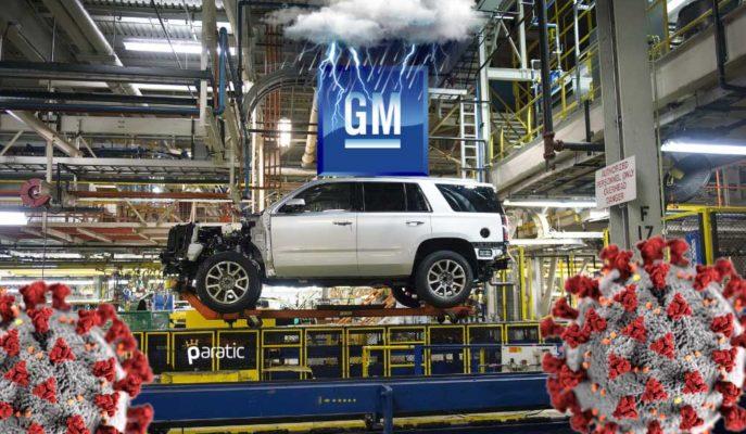 GM Tedarik Zinciri Sıkışırken İki Fabrikada Üretimi Düşürdü