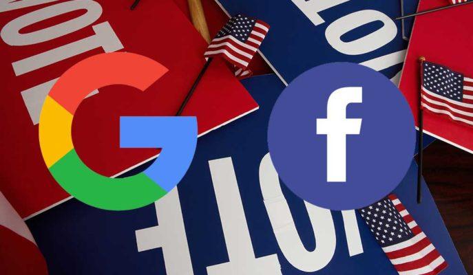 Google ve Facebook ABD'deki Karmaşa Nedeniyle Siyasi Reklam Yasağını Sürdürecek
