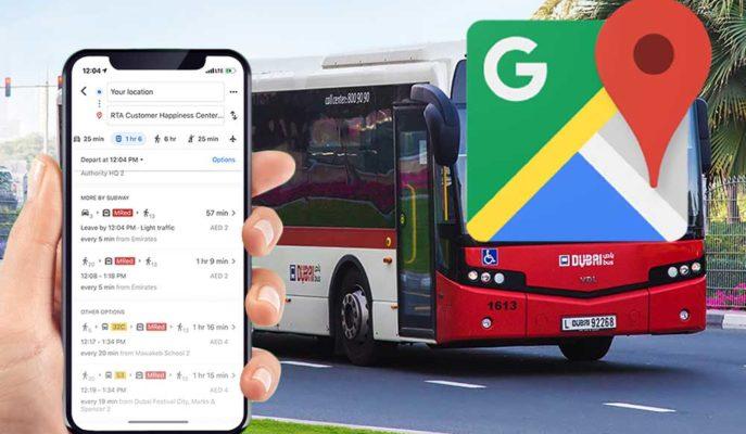 Google Haritalar Toplu Taşıma Araçlarına Dair Gerçek Zamanlı Bilgi Sağlayacak