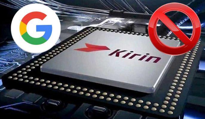 Google, Huawei'nin Kirin İşlemcisi Kullanan Telefonlarını Engellemeye Başladı