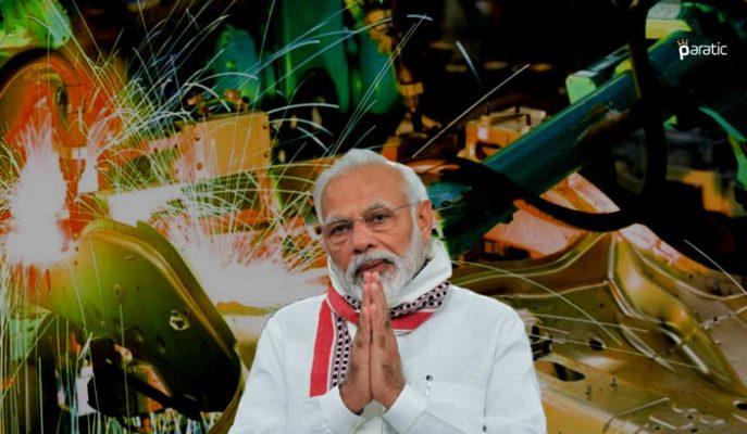 Hindistan İmalat PMI, Ekim'de 10 Yılın En Yüksek Seviyesini Gördü