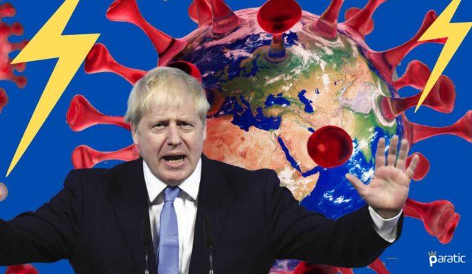 İngiltere Ekonomisi için 2020-2021 Tahminleri Aşağı Yönlü Değiştirildi