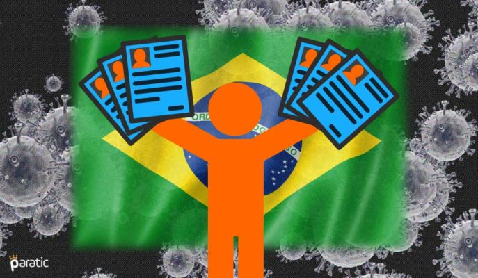 İş Aramalar Yeniden Başlarken Brezilya'da İşsizlik %14,6 ile Rekor Kırdı