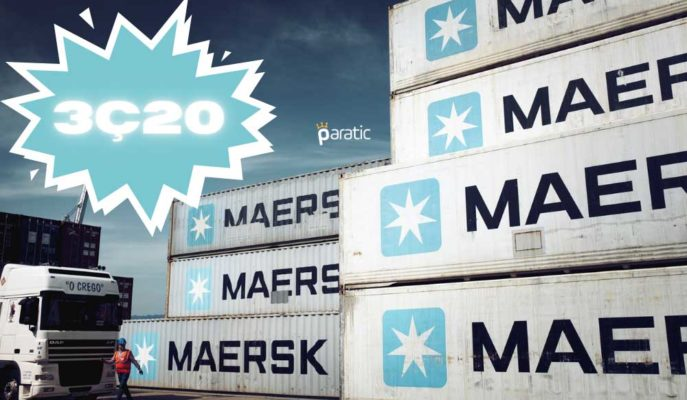 Maersk 3Ç20'de Talepteki Artışla Beklenenden Daha Hızlı Toparlandı