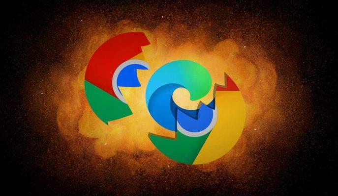 Microsoft Edge, Google Chrome'dan Kullanıcı Çekmeyi Sürdürüyor