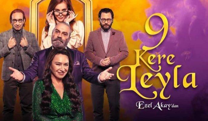 Netflix, Haluk Bilginer ve Demet Akbağ'ın Başrolde Olduğu 9 Kere Leyla Filminin Fragmanını Paylaştı