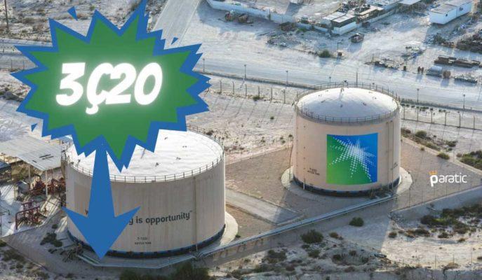 Saudi Aramco Net Kârı, 3Ç20'de Petrol Talebiyle %45 Düştü
