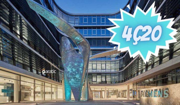 Siemens 4Ç20 Mali Yılında Net Gelirini %28 Artırdı