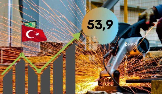 Türkiye İmalat PMI Ekim'de 53,9 ile Yükselişini 5. Aya Taşıdı