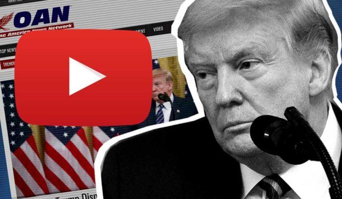YouTube, COVID-19 ile Alakalı Yanlış Tedavi Bilgileri Veren Trump Yanlısı Kanalı Askıya Aldı