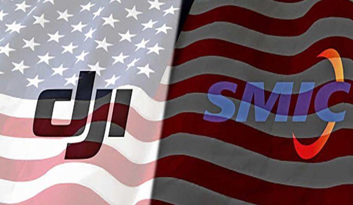 ABD Hükümeti DJI ve SMIC'ın Olduğu Çok Sayıda Çinli Şirketi Yaptırım Listesine Ekledi
