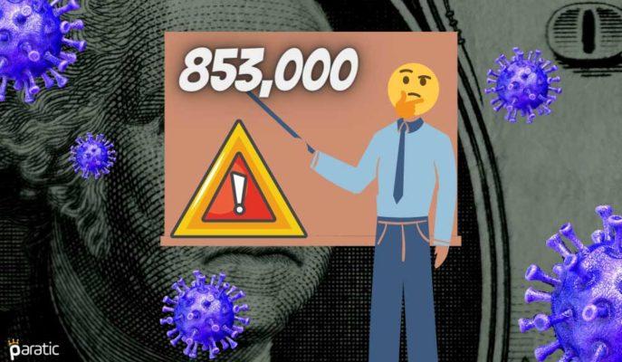ABD'nin 853 Bine Ulaşan İşsizlik Maaşı Başvuruları Görünümü Kararttı