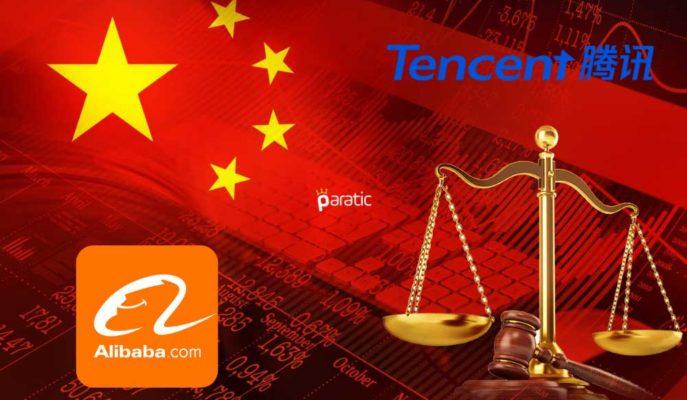 Alibaba ve Tencent Hisseleri Aldıkları Ceza Sonrası Sert Düştü