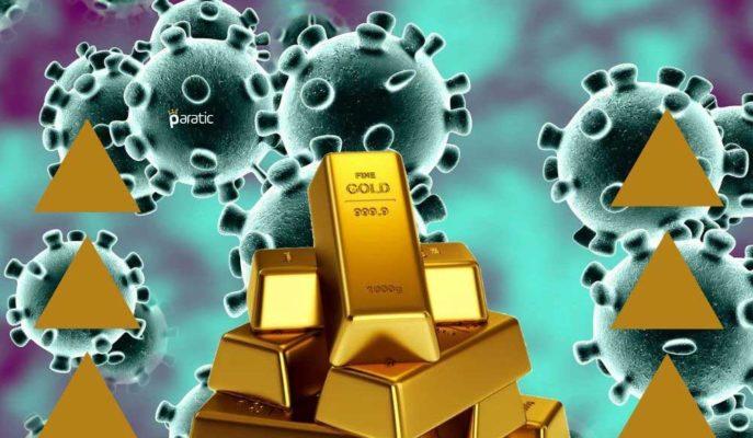 Altın, Coronavirüsün Mutasyona Uğradığı Haberiyle 1906 Dolara Yükseldi