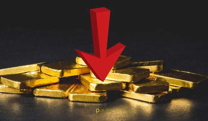 Altın Riskli Varlıklara Artan Taleple 1852 Dolara Geriledi
