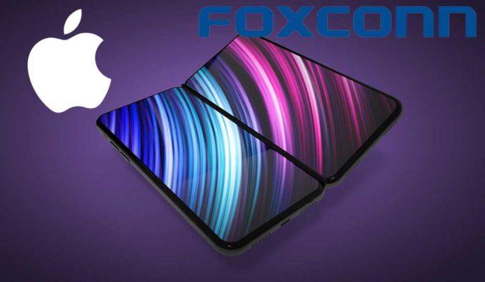 Apple Katlanabilir iPhone için Foxconn'dan Harekete Geçmesini İstedi