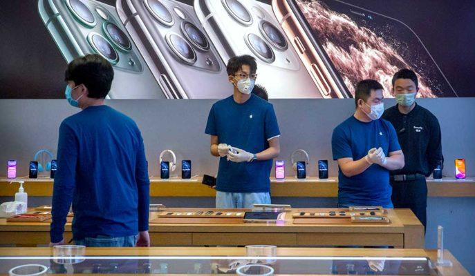 Apple, Pandeminin Etkisini Artırması ile Mağazalarını Yeniden Kapatıyor