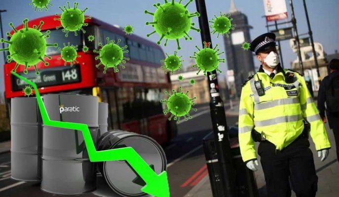 Petrol, Avrupa'da Virüs Tedbirlerinin Artırılmasıyla 3 Dolardan Fazla Geriledi