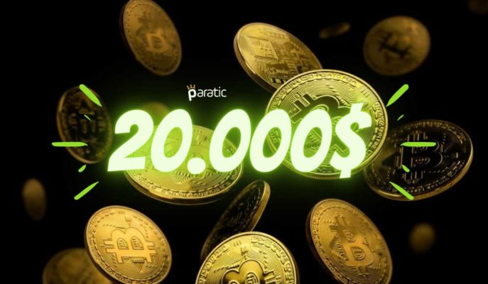 Bitcoin Fiyatı İlk Kez 20.000 Dolar Seviyesinin Üzerinde