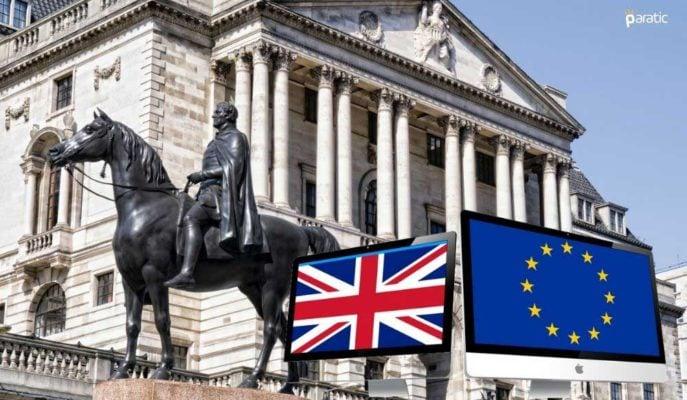 BoE Finansal Raporu: Brexit Piyasada Oynaklık ve Aksaklık Yaratacak