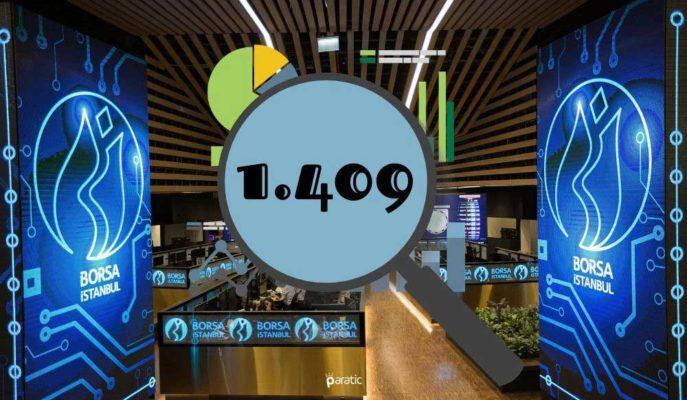 1409 Puanla Rekor Tazeleyen BIST 100'ün Yıllık Getirisi %26'ya Ulaştı
