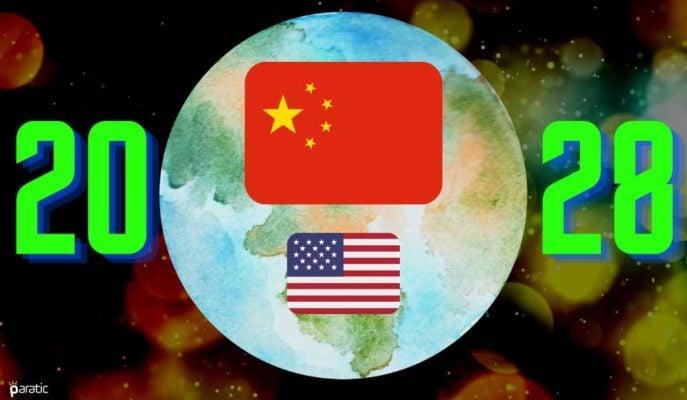 Çin Covid Sayesinde 2028'e Kadar En Büyük Ekonomi Olacak