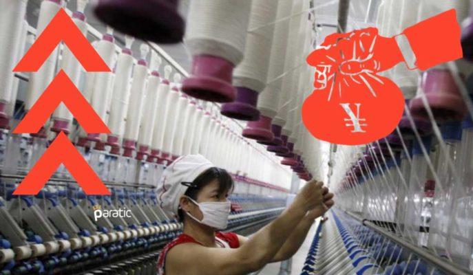 Çin'in Sanayi Kârları 2020'nin 11 Ayında %2,4 Arttı