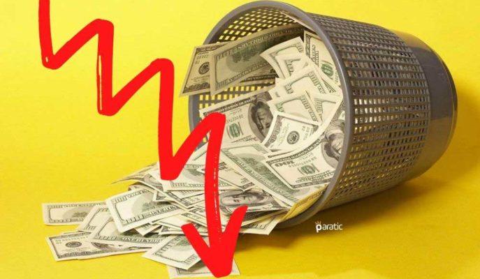Günlük Kaybı Yüzde 1,5'e Yaklaşan Dolar 7,49'a Geriledi