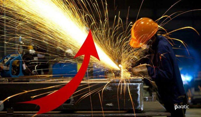 Ekim'de Sanayi Üretimi %10,2, Toplam Ciro Endeksi %30,9 Arttı