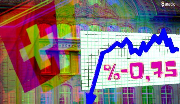 Faiz Değiştirmeyen İsviçre MB, 2020 Büyüme Tahminini %-5'ten %-3'e Çekti