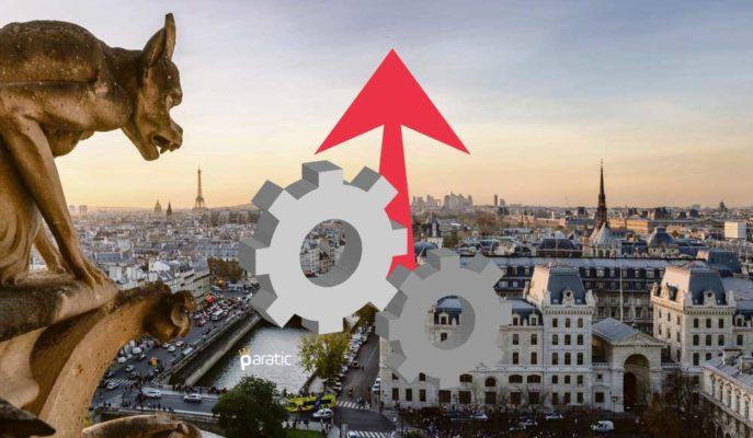 Fransa'da Endüstriyel Faaliyetlerin Çoğunda Üretim Ekim'de Arttı