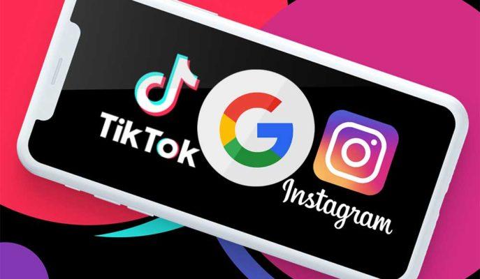 Google Arama Servisinde Instagram ve TikTok Videolarını Göstermeye Hazırlanıyor