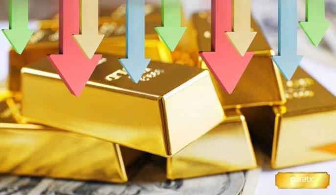 Gram Altın Onstaki Zayıflık ve Dolardaki Volatiliteyle %1'den Fazla Geriledi
