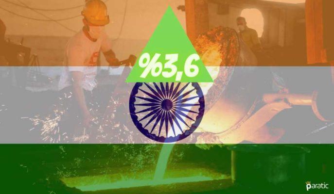 Hindistan Sanayi Üretimi Ekim'de %3,6 ile Beklenti Üstü Büyüdü
