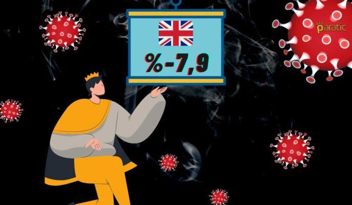 İngiltere Ekonomisi Ekim'de Covid Öncesinin %7,9 Altında Kaldı