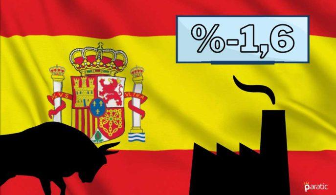 İspanya Sanayi Üretimi Ekim'de Beklentilerin Altında Düştü