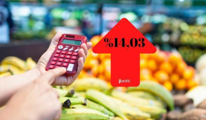 Enflasyon Kasım'da Beklentinin de Üstünde Gelerek %14,03'e Yükseldi