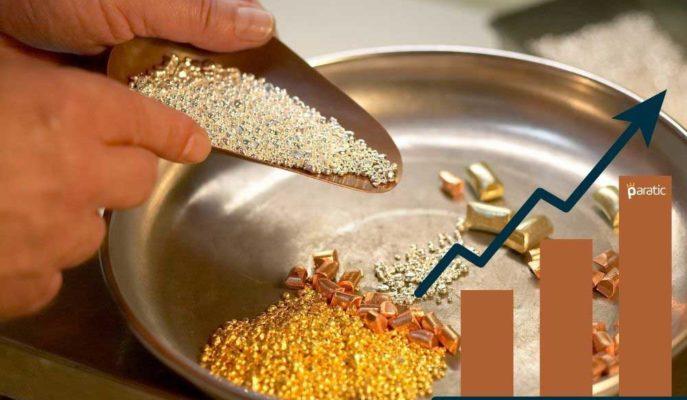 Kıymetli Metal İthalatı Yılın İlk 11 Ayında 24,4 Milyar Dolara Yükseldi