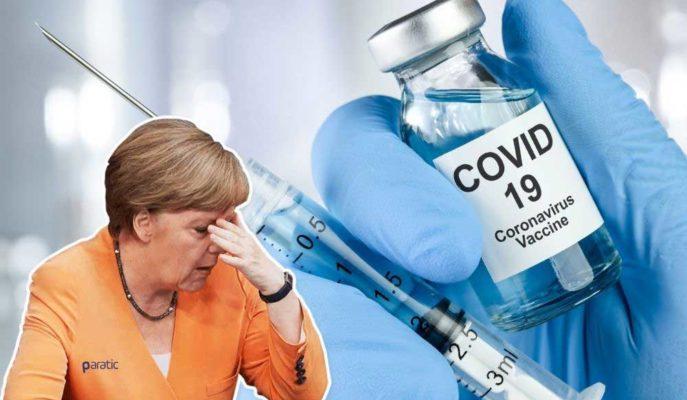Merkel'e Göre Aşı, Pandeminin Seyrini Değiştirecek Kadar İnsana Ulaşamayacak