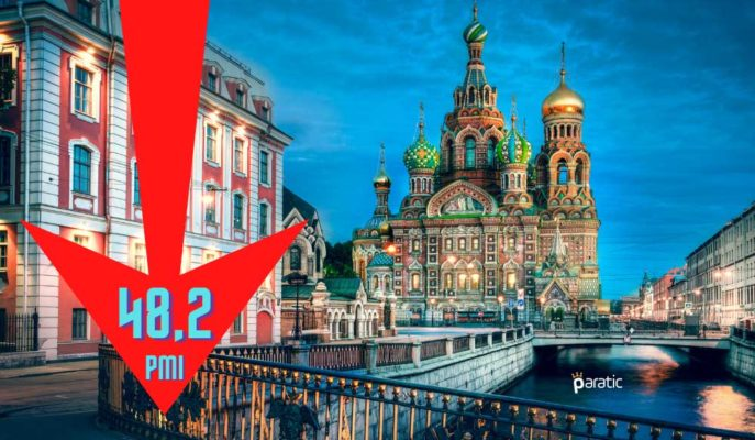 Rusya Hizmet Sektörü Göstergesi Kasım'da Düşüş Hızını Yavaşlattı