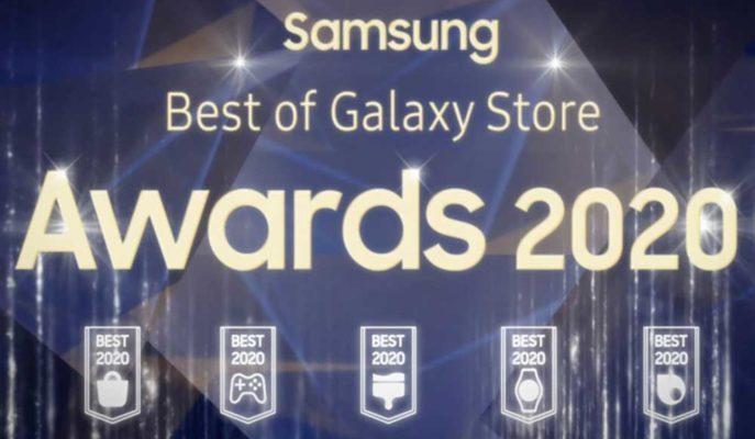 Samsung, 2020 Yılı için En İyi Mobil Uygulama Ödüllerini Dağıttı
