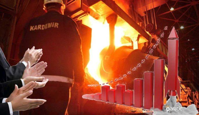 Sıvı Çelik Üretiminde Hedefi Aşan Kardemir Hisseleri Yıllık %100'den Fazla Yükseldi