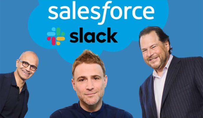 İş Odaklı Sohbet Uygulaması Slack, Salesforce Bünyesine Katılıyor