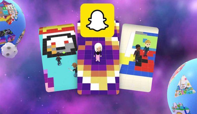 Snapchat Çevrimiçi Boyama Oyunu Bitmoji Paint'i Yayınladı