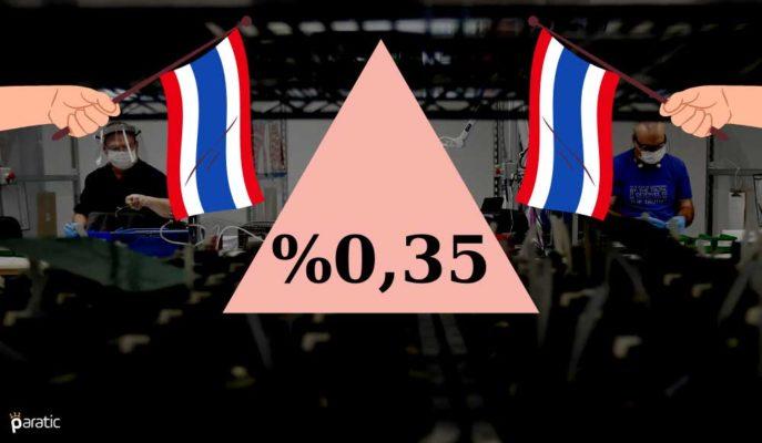 Tayland Sanayi Üretimi Kasım'da 19 Ayın İlk Artışını Kaydetti