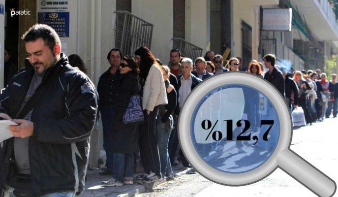 Eylül İtibarıyla Türkiye'nin İşsizlik Oranı %12,7'ye Geriledi